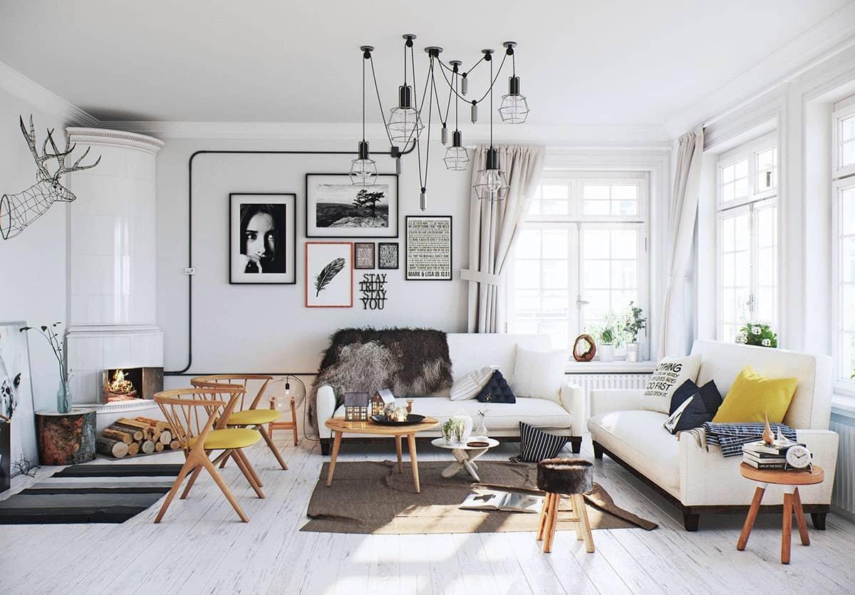 Scandinavian hứa hẹn sẽ bùng nổ trong thiết kế và trang trí nhà ở gia đình 2020