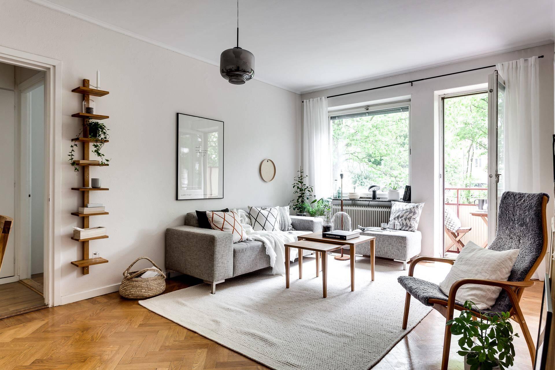 Sử dụng nội thất với tối ưu các họa thiết trong thiết kế Scandinavian