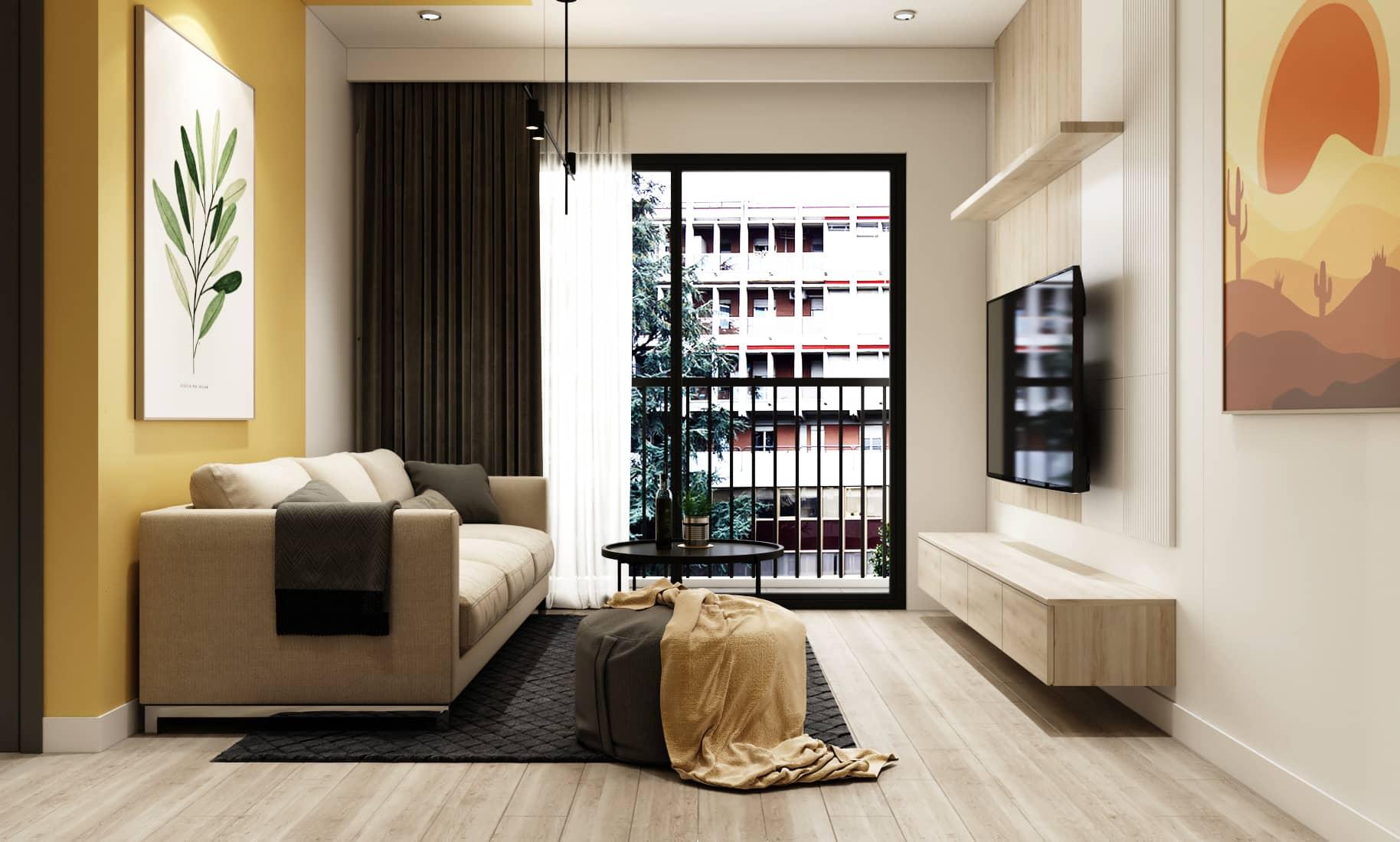 Thiết kế nội thất nhà ở mang đến không gian sống ấn tượng, hài hòa