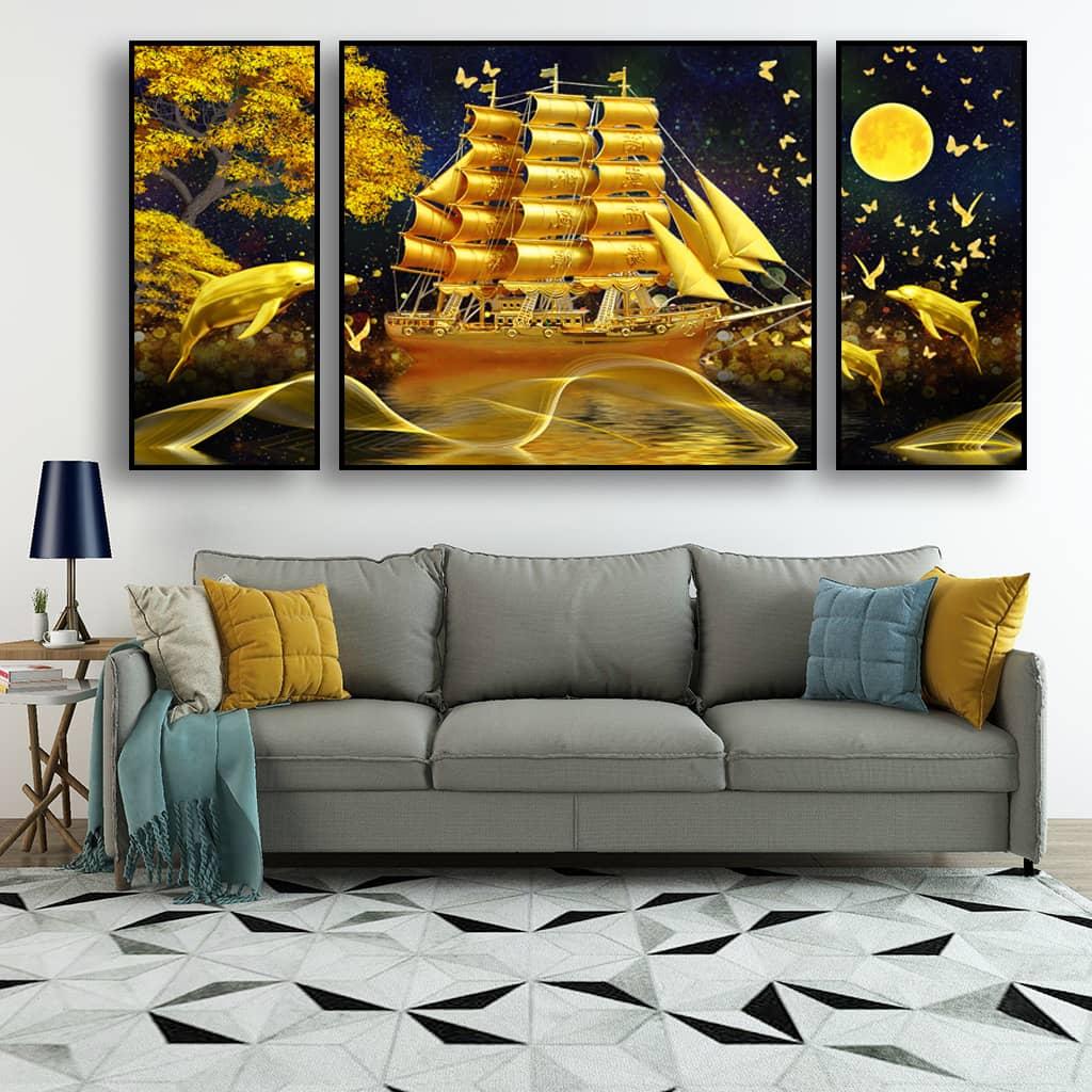 Tranh in Canvas thích hợp với hầu hết các không gian phòng khác nhau
