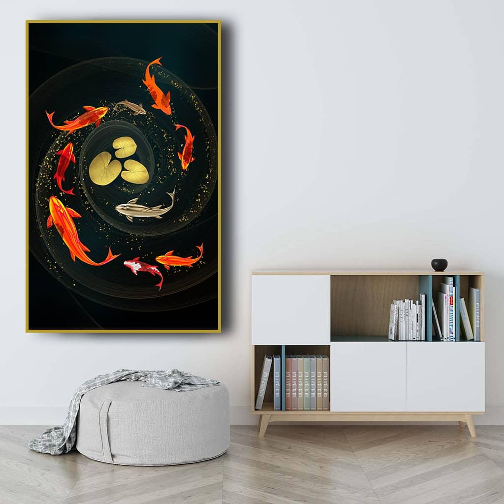 Tranh canvas phong thủy Ninh Thuận