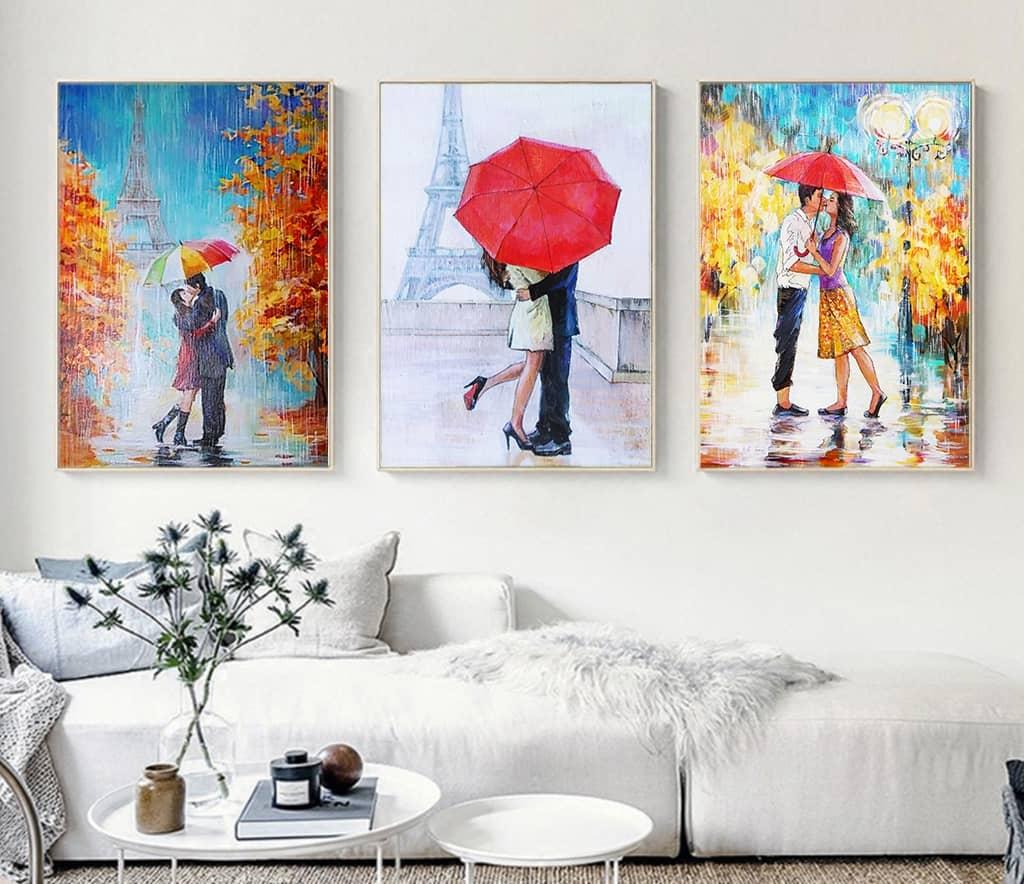 Tranh Canvas là gì? Tại sao lại đáng yêu đến thể?