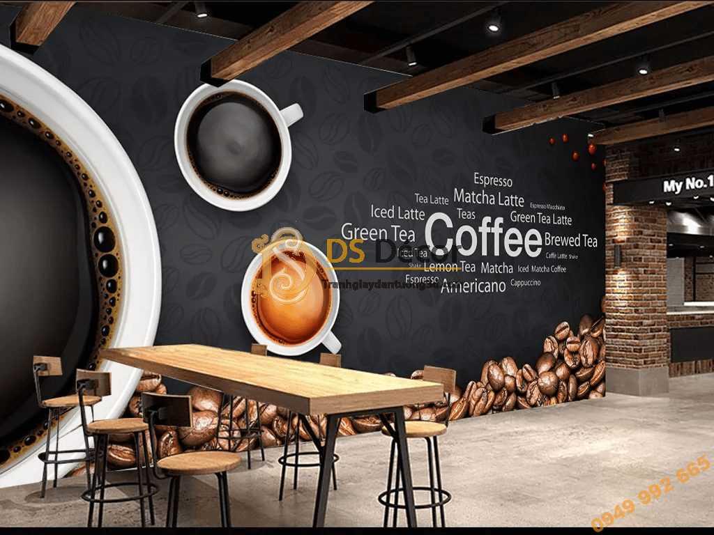 Tranh treo quán cafe Đà Nẵng