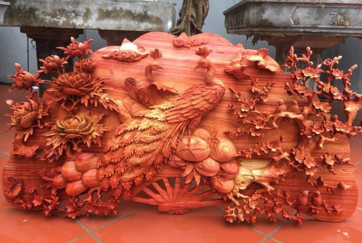 Tranh khắc gỗ là dòng tranh phổ biến tại các nước Đông Á, có nguồn gốc từ Trung Quốc
