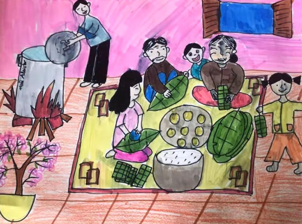 Phiên chợ Tết tại các làng quê mang tới không khí đông vui, tấp nập và ấm áp