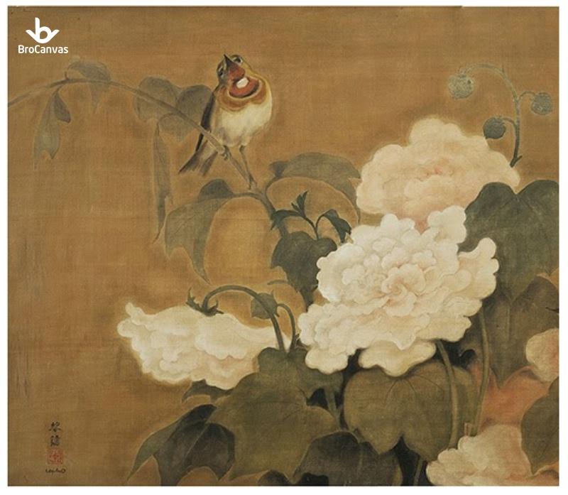 Bức tranh Những Chú Chim của họa sĩ Lê Phổ được đấu giá 1,7 tỷ đồng