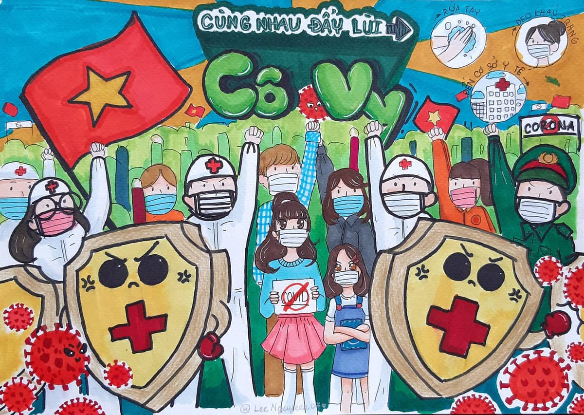 Việt Nam quyết tâm đẩy lùi dịch bệnh COVID-19 (Corona)