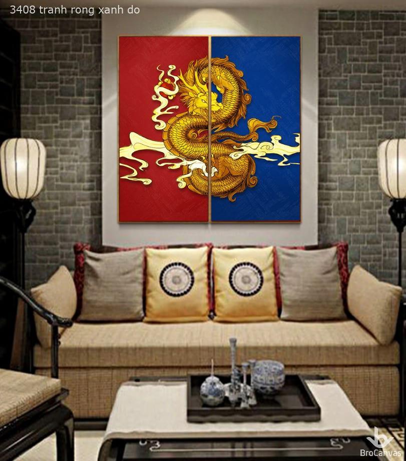tranh trang trí tranh treo tường phong thủy tai đà nẵng in uv