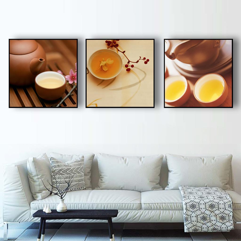 Khung Canvas hình vuông đơn giản, mang đậm nét đẹp hài hòa.