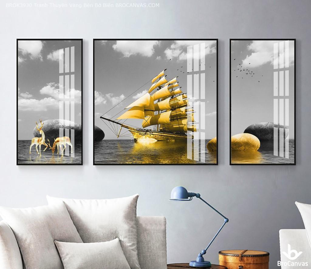 Nhiều dòng tranh mang giá trị phong thủy cao
