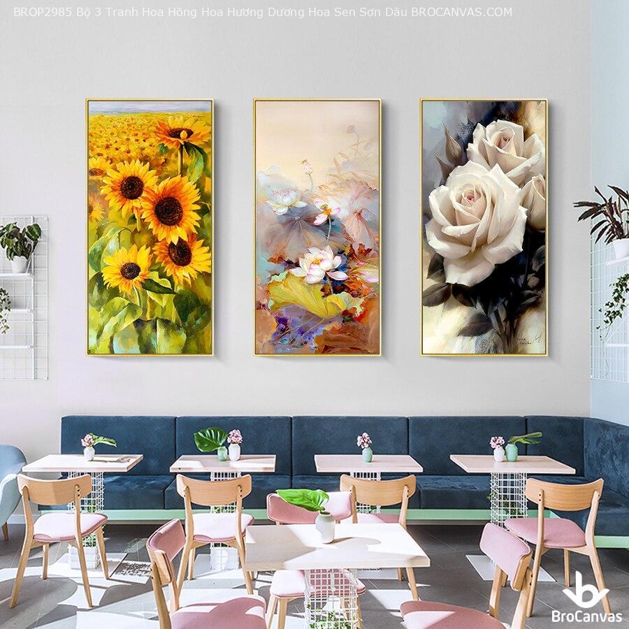 Lựa chọn khung tranh có kiểu dáng phù hợp với phong cách thiết kế của bức tranh