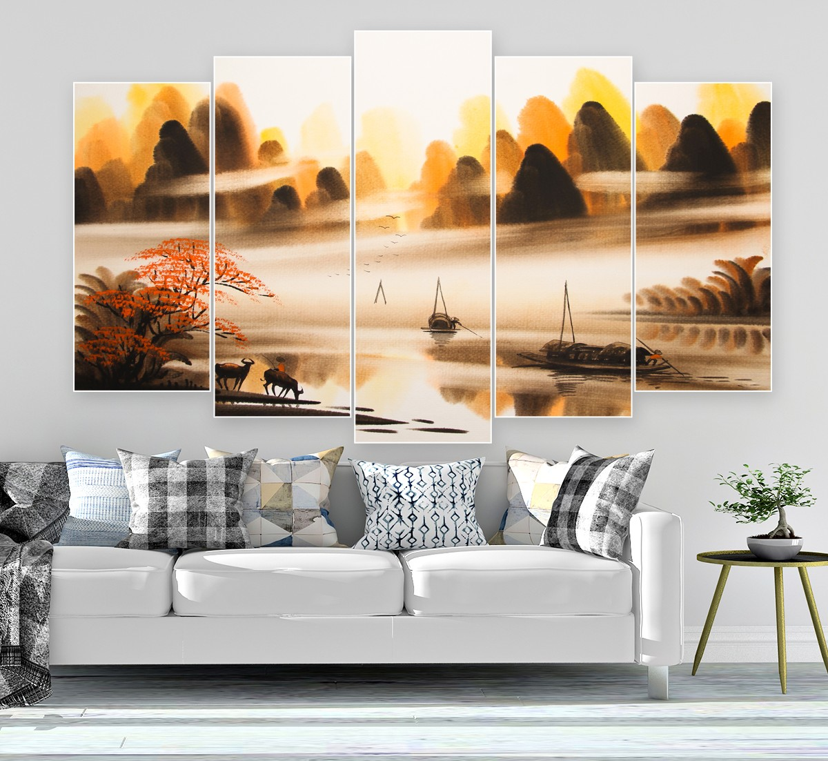 tranh trang trí tranh treo tường phong thủy tai đà nẵng