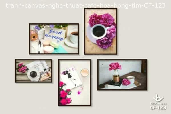 Tranh Canvas Cafe: