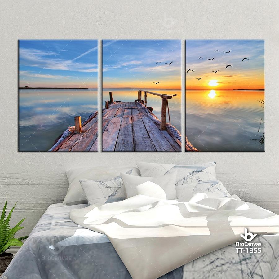 Tranh treo tường khách sạn của showroom tranh Brocanvas được nhiều người tin dùng.