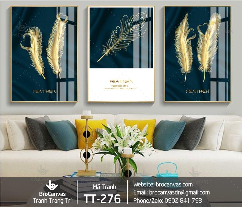Tranh canvas treo tường phòng ngủ hiện đại