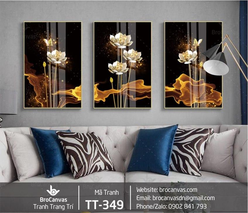"""Tranh Canvas là món đồ trang trí nội thất đang rất """"hot"""" hiện nay"""