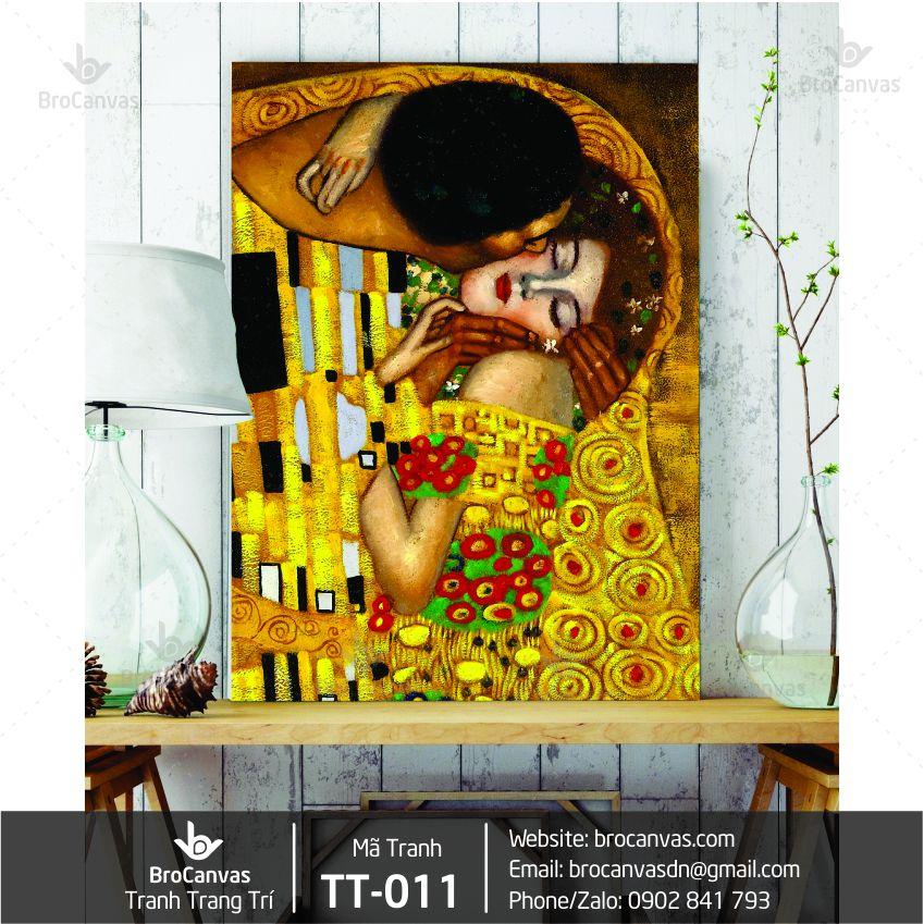 Tranh Trang Trí Nam Nữ Yêu Nhau TT-011 | Brocanvas.com