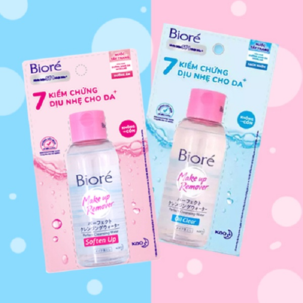 Nước Tẩy Trang Biore Makeup Remover Perfect Cleansing Water 90ml | SHOP ĐẸP  24