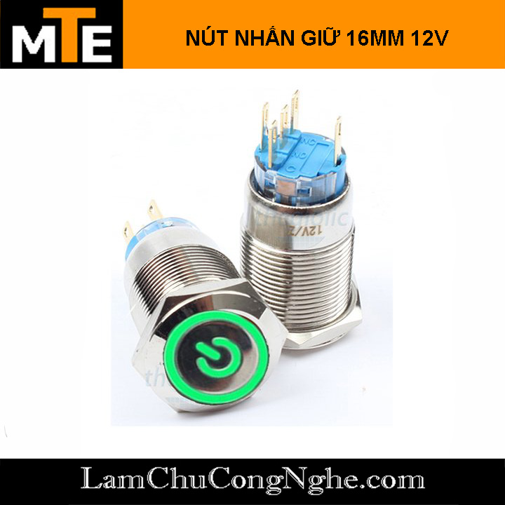 nut-nhan-giu-nut-nguon-co-led-16mm-12v-xanh-do