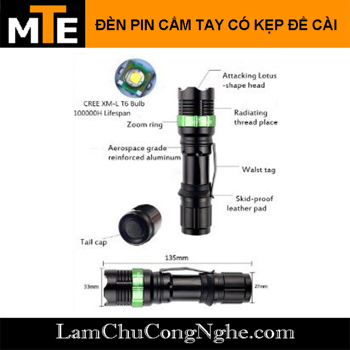 den-pin-sieu-sang-led-cree-co-zoom-kep-cai-quan-ao