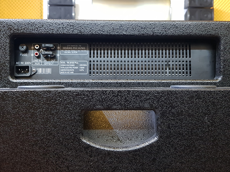 LOA ĐIỆN DI ĐỘNG PA-9100 PLUS