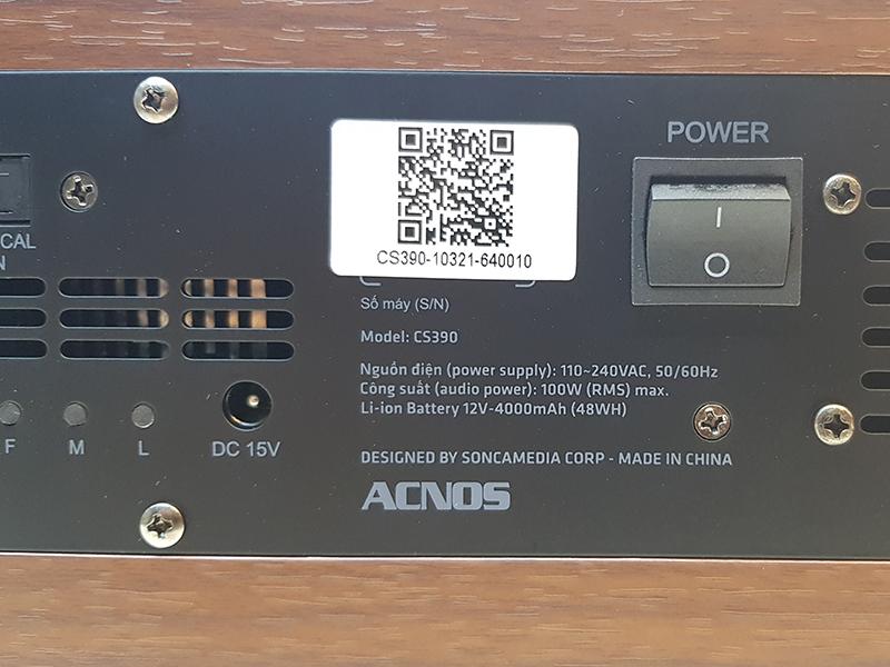 Loa kéo di động Acnos KBeatbox CS390