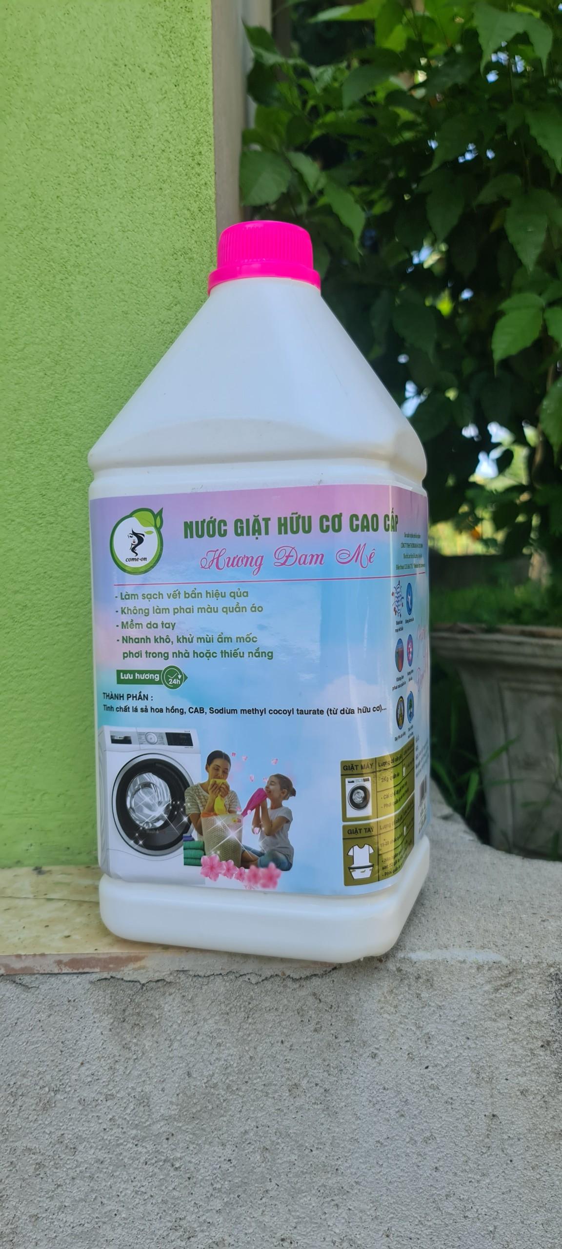 Nước giặt hữu cơ cao cấp