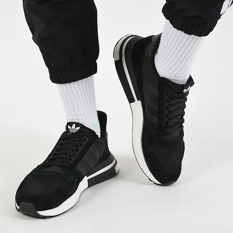 Đánh giá ZX 500 Remastered: Sôn gô ku trong phối màu đen trắng Bounty  Sneakers