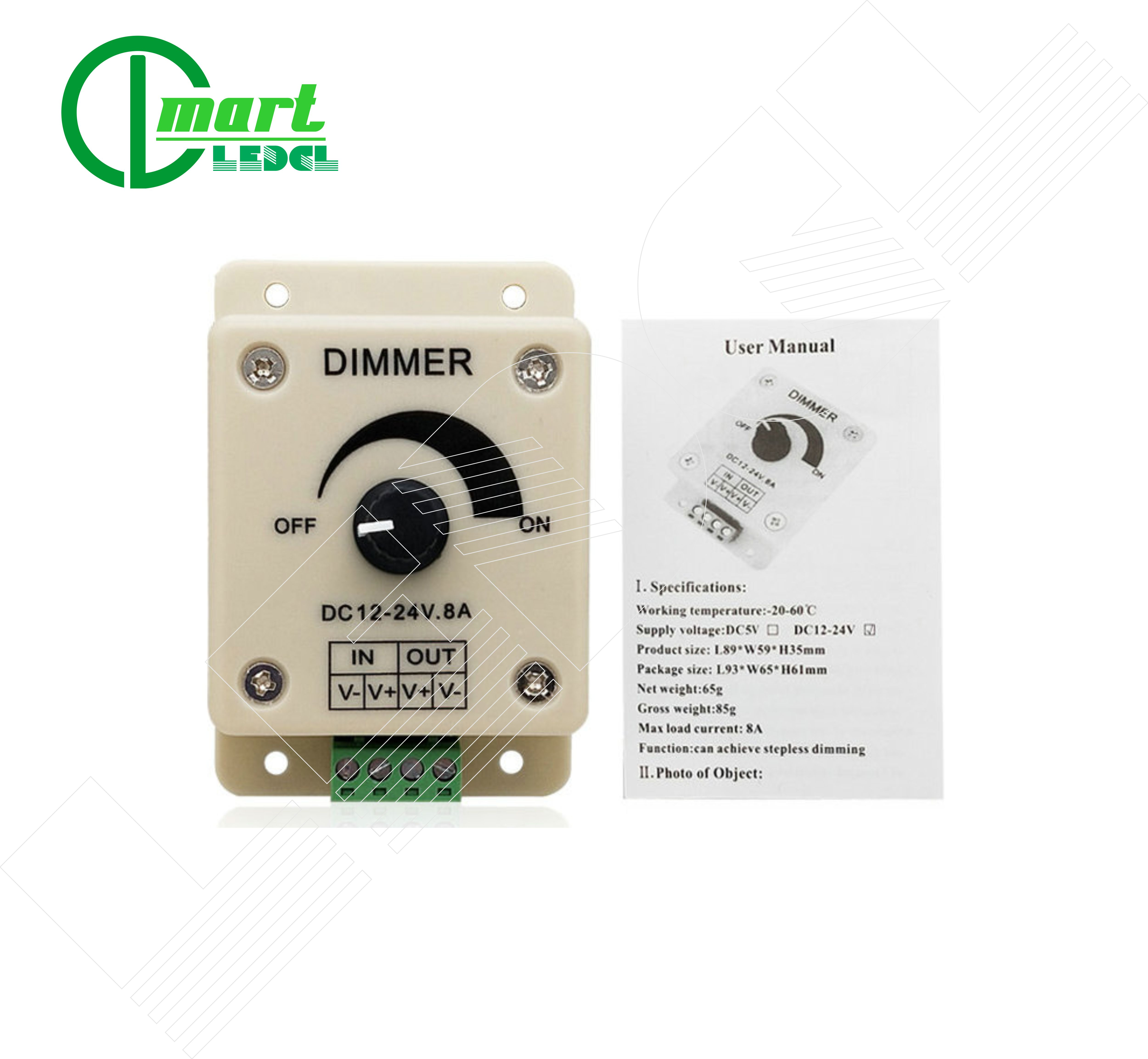 bo-dimmer-pwm-dieu-chinh-do-sang-den-dong-co-dc-12-24v-dong-max-8a
