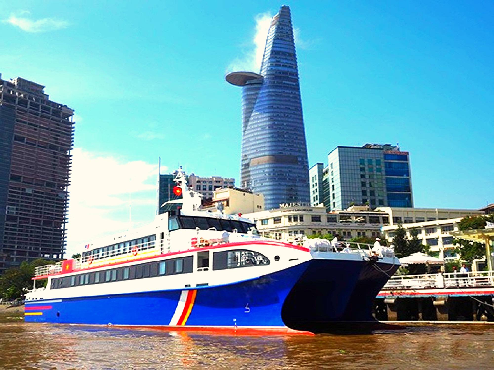 Tour Sài Gòn Côn Đảo, tàu khởi hành từ Sài Gòn