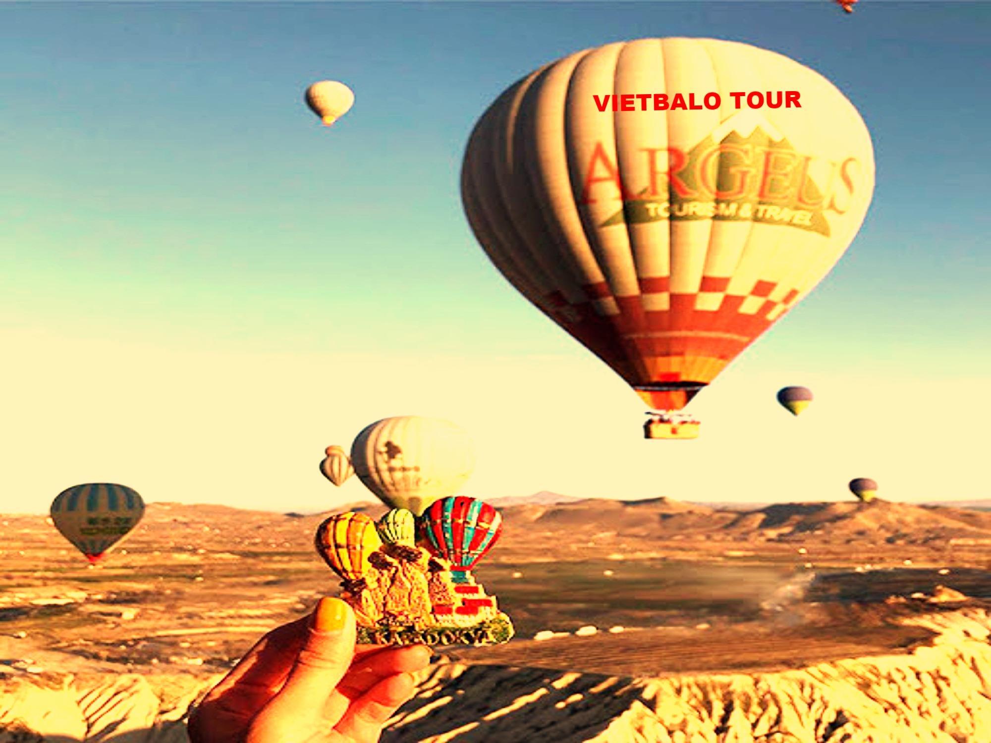 Tour bay khinh khí cầu Mũi Né - Phan Thiết