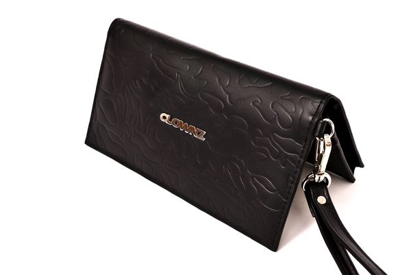 Camo Leather Long Wallet