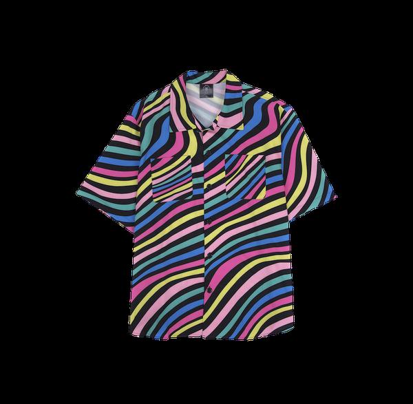 ClownZ Color Waves Short Sleeve Shirt