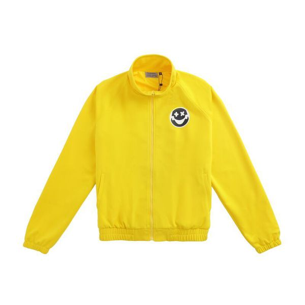 Laugh Now Small Logo Coach Jacket