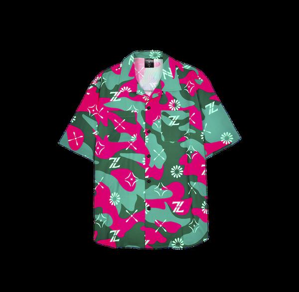ClownZ Terraria Camouflage Short Sleeve Shirt