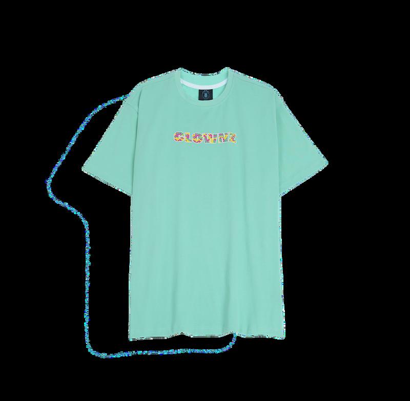 ClownZ Camo Print Big Logo T-shirt