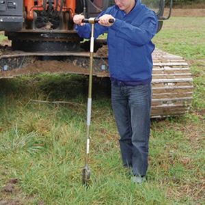 Dụng cụ lấy mẫu đất