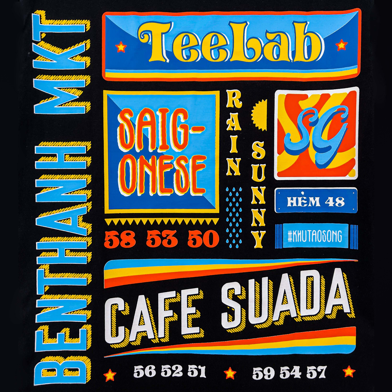 Áo thun Teelab SAIGONESE TS076