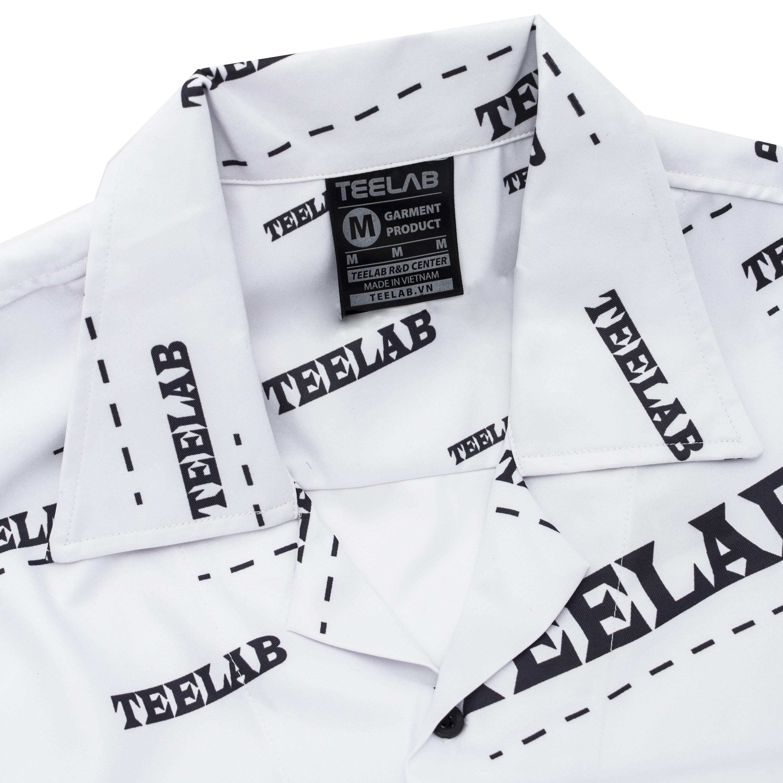 Áo sơ mi Teelab monogram typo SS014