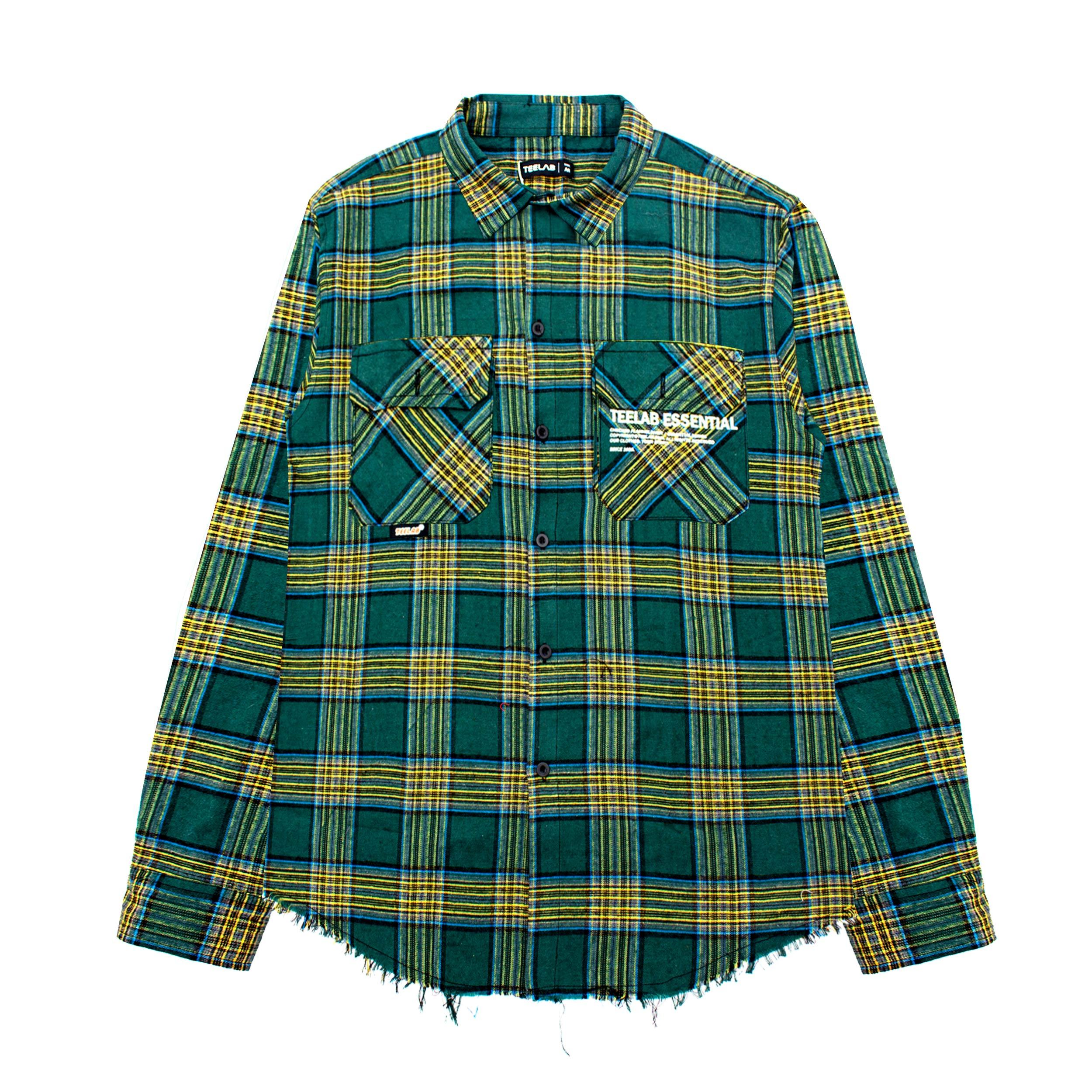 Áo Flannel Teelab Essential SS023