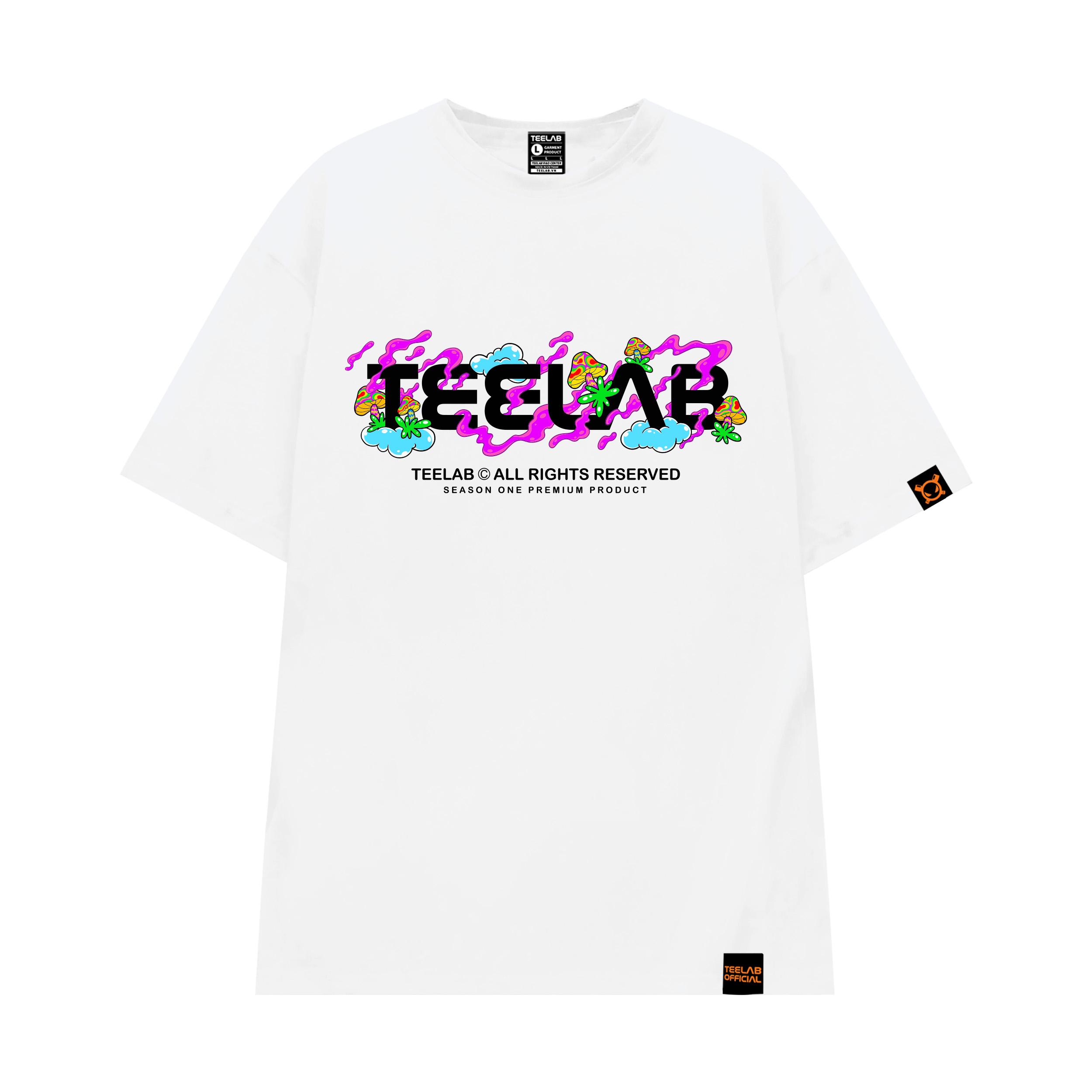 Áo thun Teelab MUSHROOM CLUB TS051