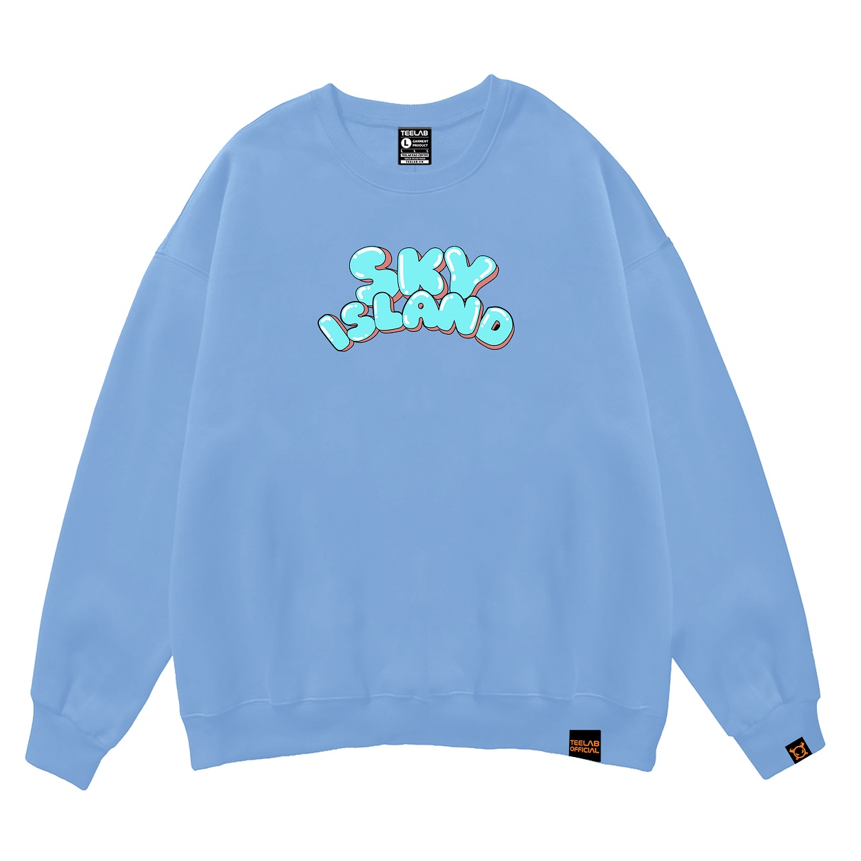 Áo Sweater Teelab Sky Island LS022