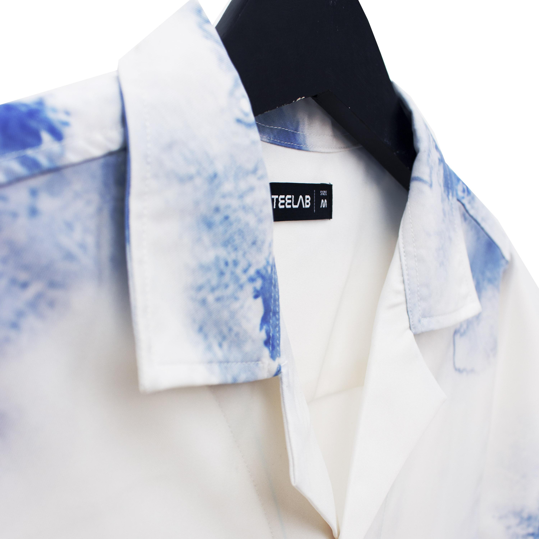 Áo Sơ Mi Teelab Tie Dye Basic Color SS016