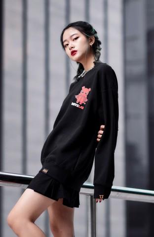Áo Sweater Teelab Devil LS017