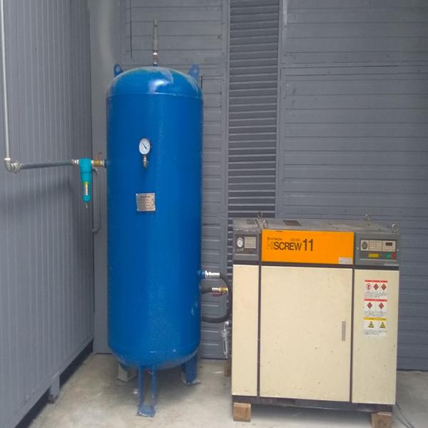 Bình chứa khí nén dung tích 500l