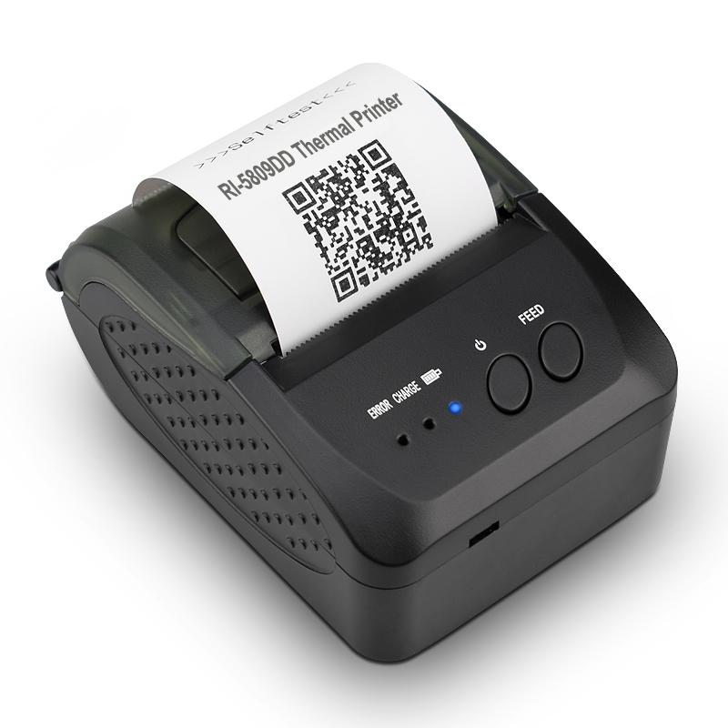 Máy in hóa đơn cầm tay Richta POS RI-5809DD