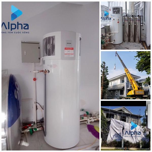 Máy nước nóng bơm nhiệt Heat pump - Stiebel Eltron