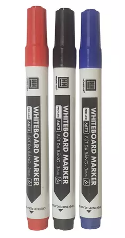 Bút dạ bảng GX-WM01 mực xanh, đen, đỏ 6673