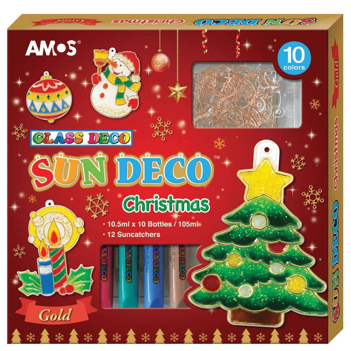 Hộp Bút Trang Trí Amos Sundeco Christmas SD10P10-CH
