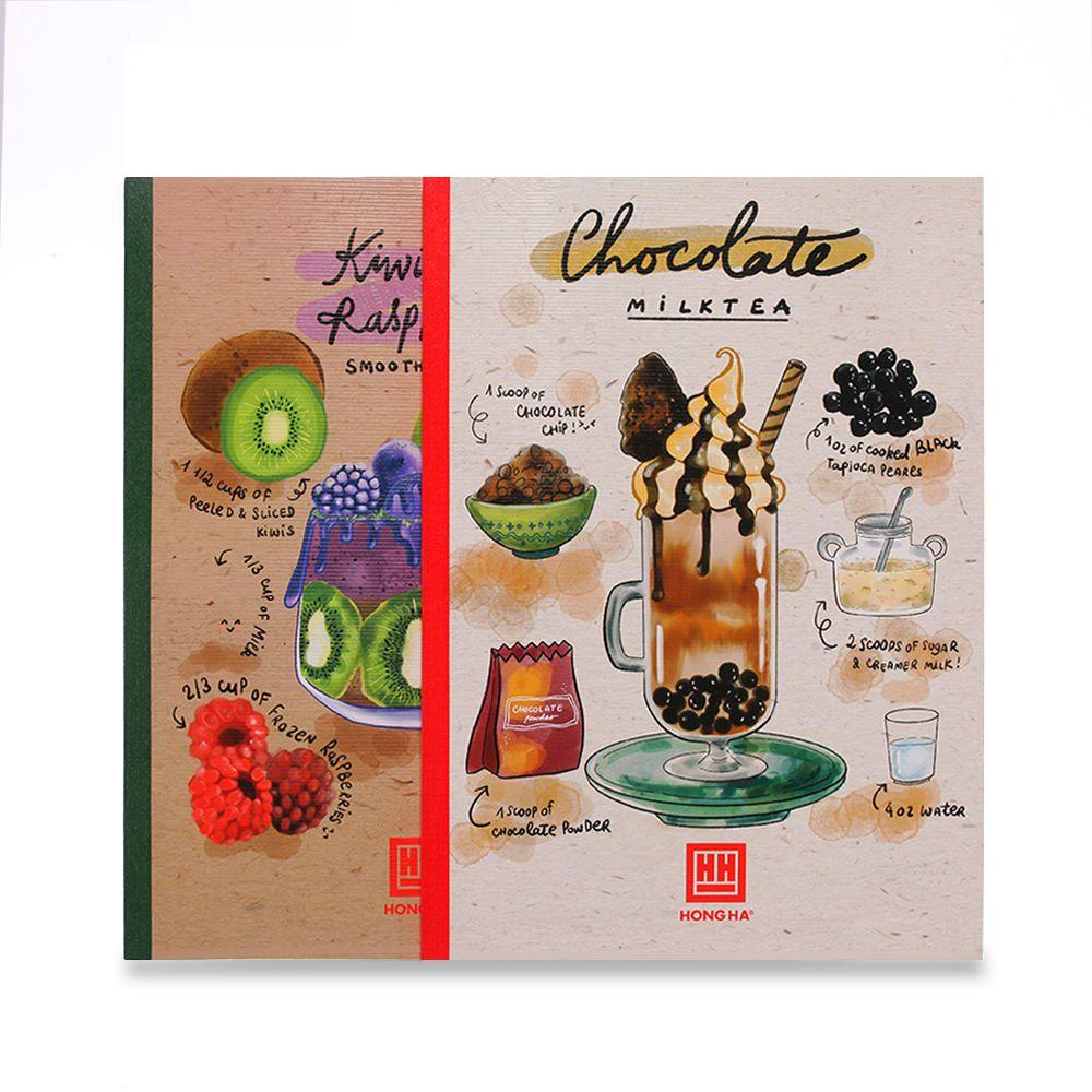 [MUA 5 TẶNG 1] Vở Hồng Hà cocktail kẻ ngang không lề - 200 trang 1429